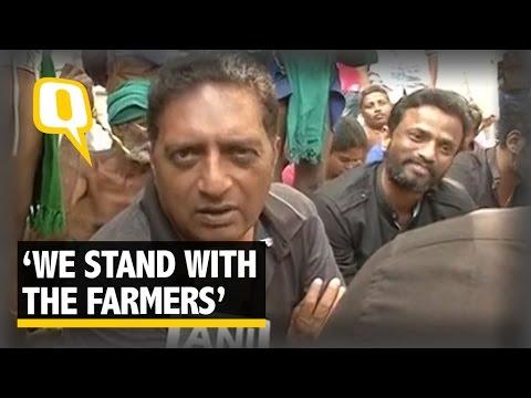 The Quint:Tamil Actors Back Farmers Protesting at Delhi's Jantar Mantar