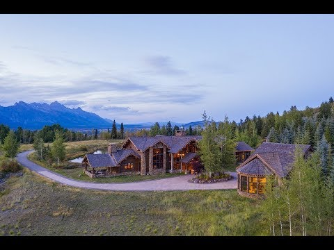 Private Architectural Masterpiece In Jackson, Wyoming | Sotheby's International Realty