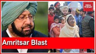 Amritsar Attack : Punjab CM, Amarinder Singh Reviews Law & Order Situation