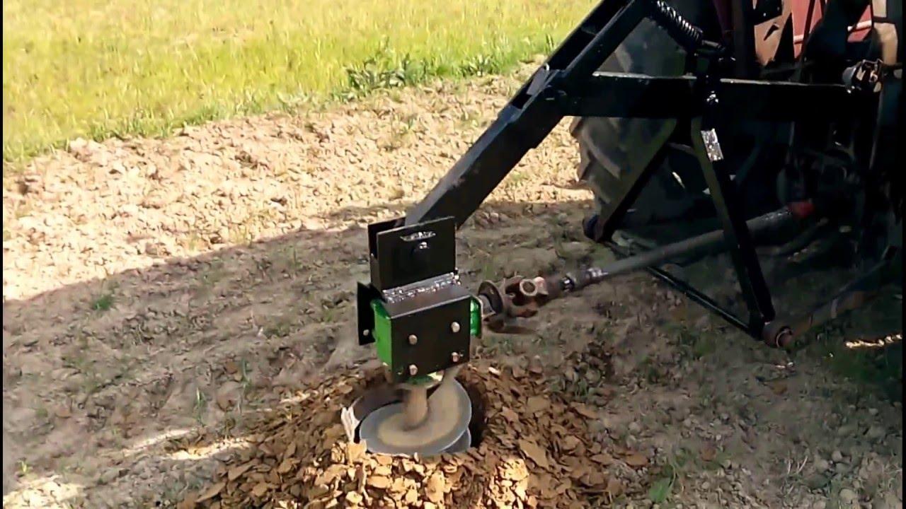W Mega Świder do ziemi własnej roboty - YouTube VC65