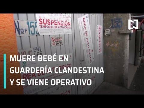 Muere bebe en guarderia clandestina; operativo en guarderías - En Punto con Danielle Dithurbide