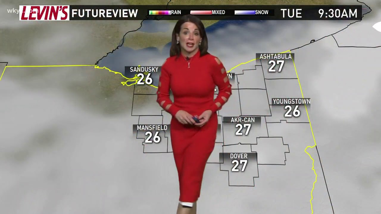 morning weather forecast for northeast ohio  january 9