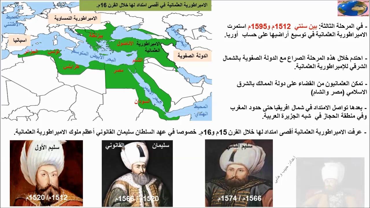 الامبراطورية العثمانية Youtube