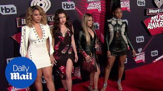 Fifth Harmony hits red carpet at iHeart Awards minus Camila - Daily Mail