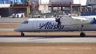 N449QX Horizon Alaska Air Q400 Last Recorded Landing? 4K