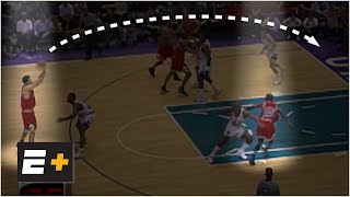 Phil Jackson dissects the Bulls' triangle offense vs. Jazz in 1998 NBA Finals | Detail on ESPN+