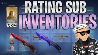 Rating more Subscriber VALΟRANT Inventories (Collections)