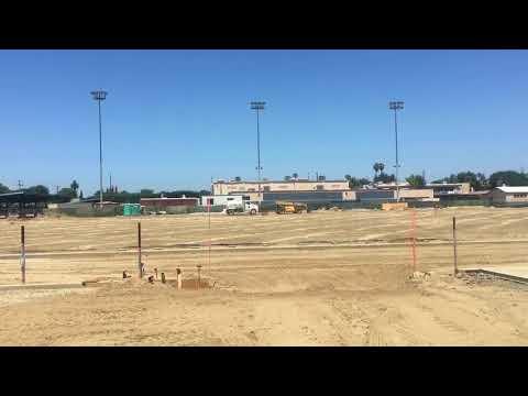 Lynwood Middle School Football Field Construction Update