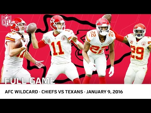 2015 AFC Wild Card Playoffs: Chiefs vs. Texans | NFL Full Ga