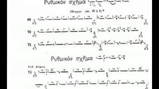 Byzantine Music Lesson 17 Ex66-73 (Το Γοργόν εις τας Γραφάς)