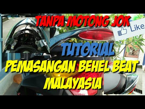 Tutorial cara memasang behel beat malaysia