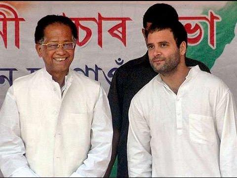 Rahul Gandhi backed Tarun Gogoi faces rebellion