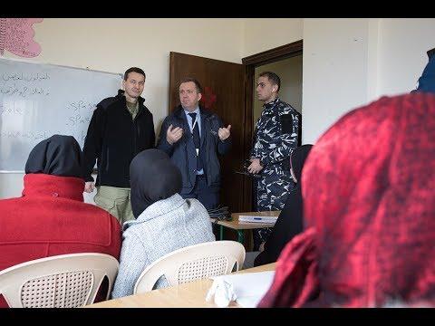Mateusz Morawiecki w Polskim Centrum Pomocy Międzynarodowej