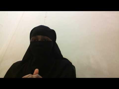 Niqab hijab tutorial