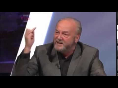 George Galloway kicking arse on young voters question time 040913