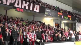 Bitva o tribuny: HC Sparta Praha - HC Slavia Praha