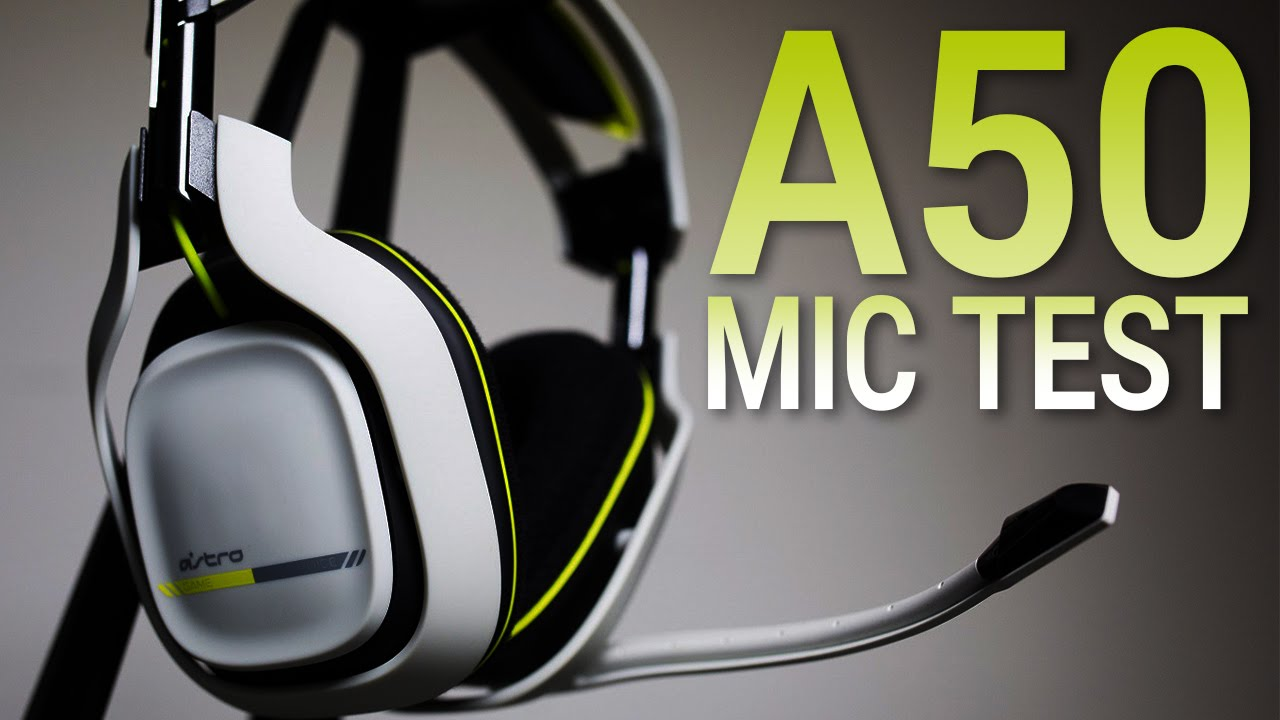 astro a50 mic test xbox one wireless headset youtube. Black Bedroom Furniture Sets. Home Design Ideas