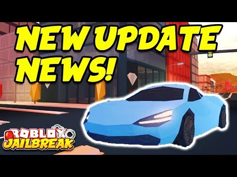 Roblox Jailbreak LIVE!! NEW WINTER UPDATE NEWS! New Cars, Snow Map, And Trains!?   🔴 Roblox Live