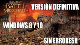 Repeat youtube video El Señor de los Anillos - Batalla por la Tierra Media 1 [Version Definitiva] Esp 1 link