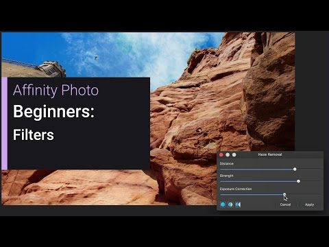 Beginners - Filters (Affinity Photo)