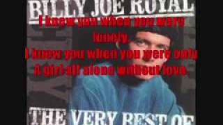 I Knew You When by Billy Joe Royal lyrics