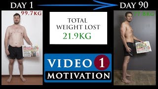 BODY TRANSFORMATION MOTIVATION video from FAT TO FIT | Video 1 - Motivation