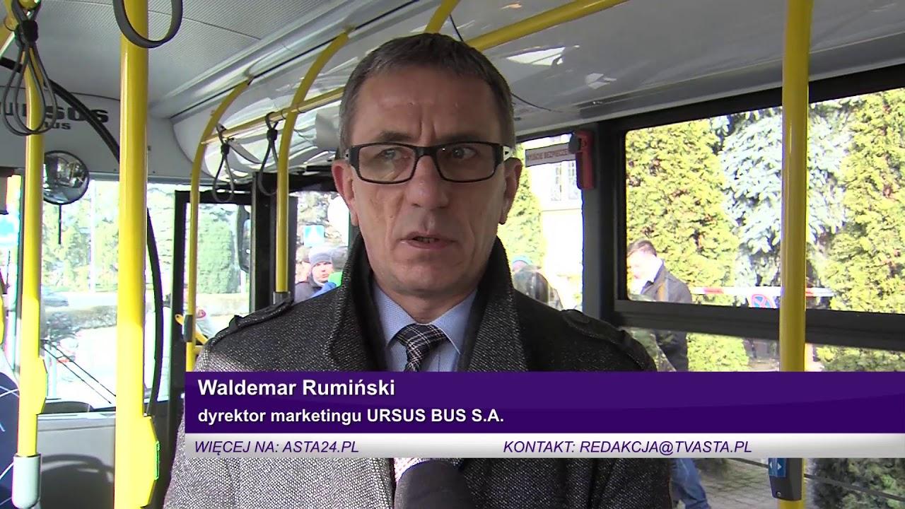 Złotów: Elektrobus jeździł po mieście