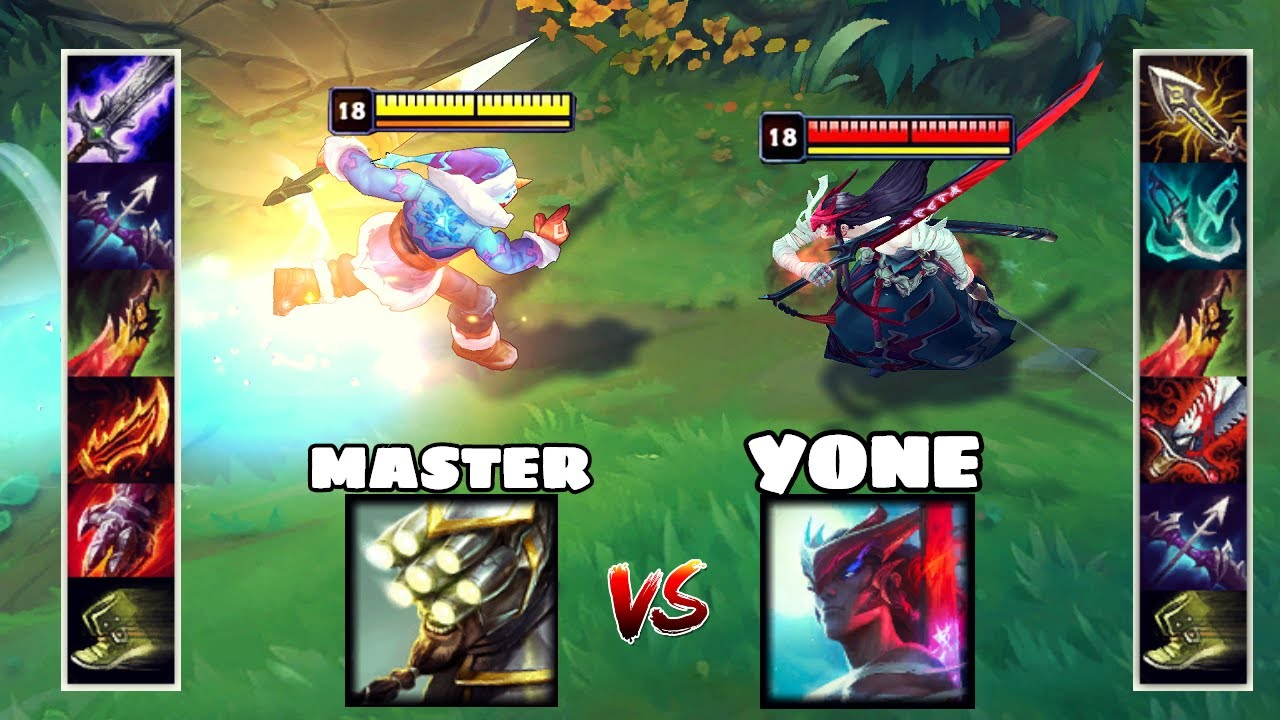 YONE vs MASTER YI FULL BUILD FIGHTS & Best Moments!