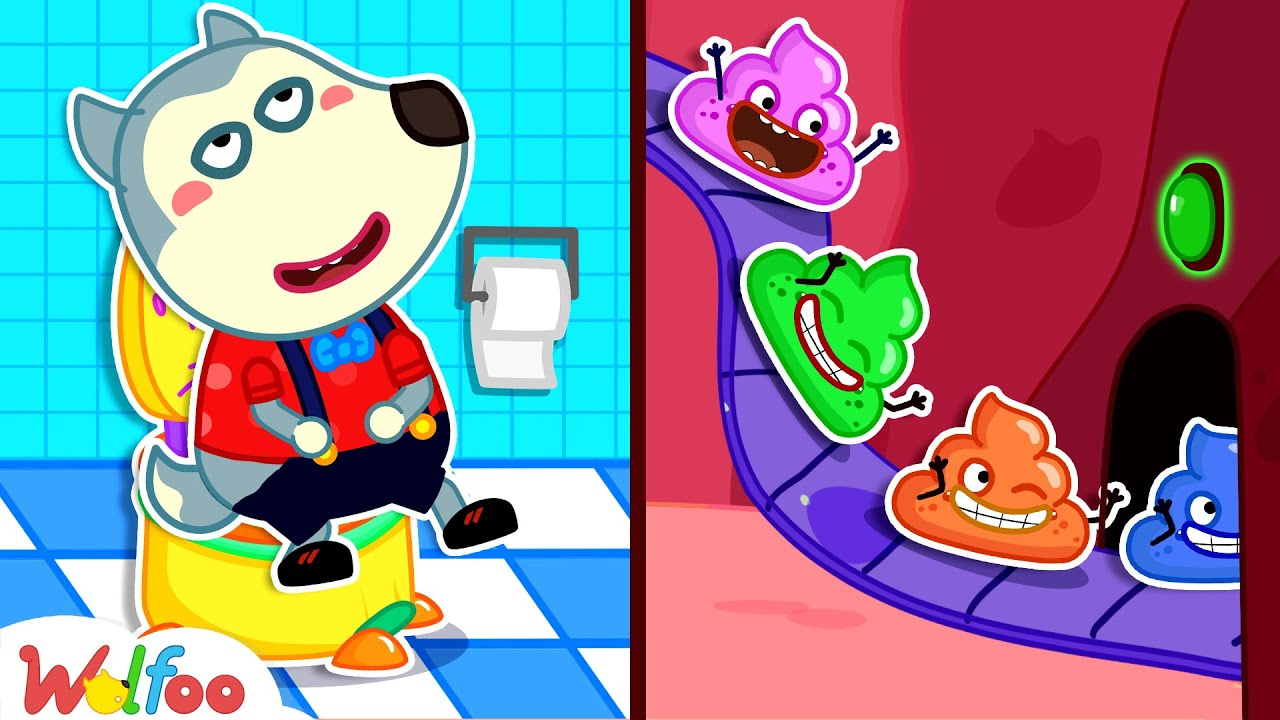 Download Baby Wolfoo! Yes Yes Go Potty - Kids Stories About Potty Training for Baby | Wolfoo Channel