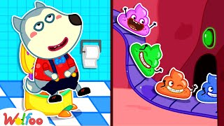Baby Wolfoo! Yes Yes Go Potty - Kids Stories About Potty Training for Baby | Wolfoo Channel