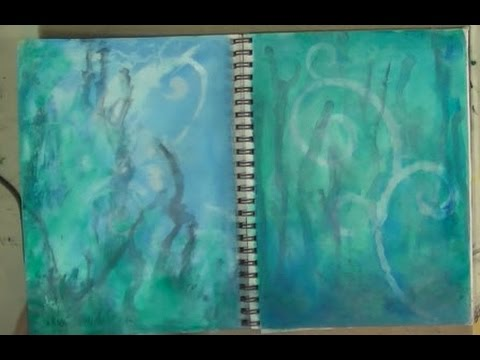 Art Journal Book of Backgrounds 2013 Session 2