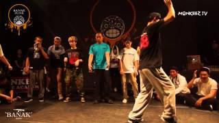 1st preliminary group c 1on1 poppin side banak funk vol 2 monkeez tv