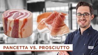 What's The Difference Between Pancetta and Prosciutto? Here's What to Know About These Italian Meats
