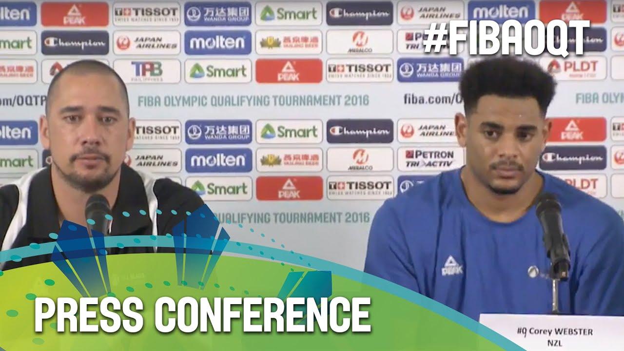 New Zealand v France - Press Conference