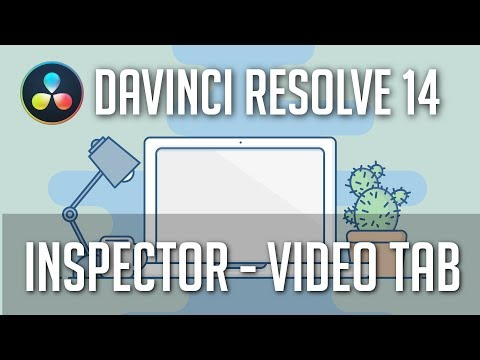 Inspector (Video) - Zoom, Rotate, Dynamic Zoom & More - Davinci Resolve 14