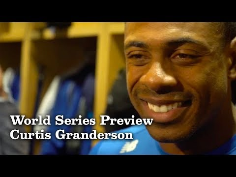 Curtis Granderson on Playing in his Third World Series| Los Angeles Times