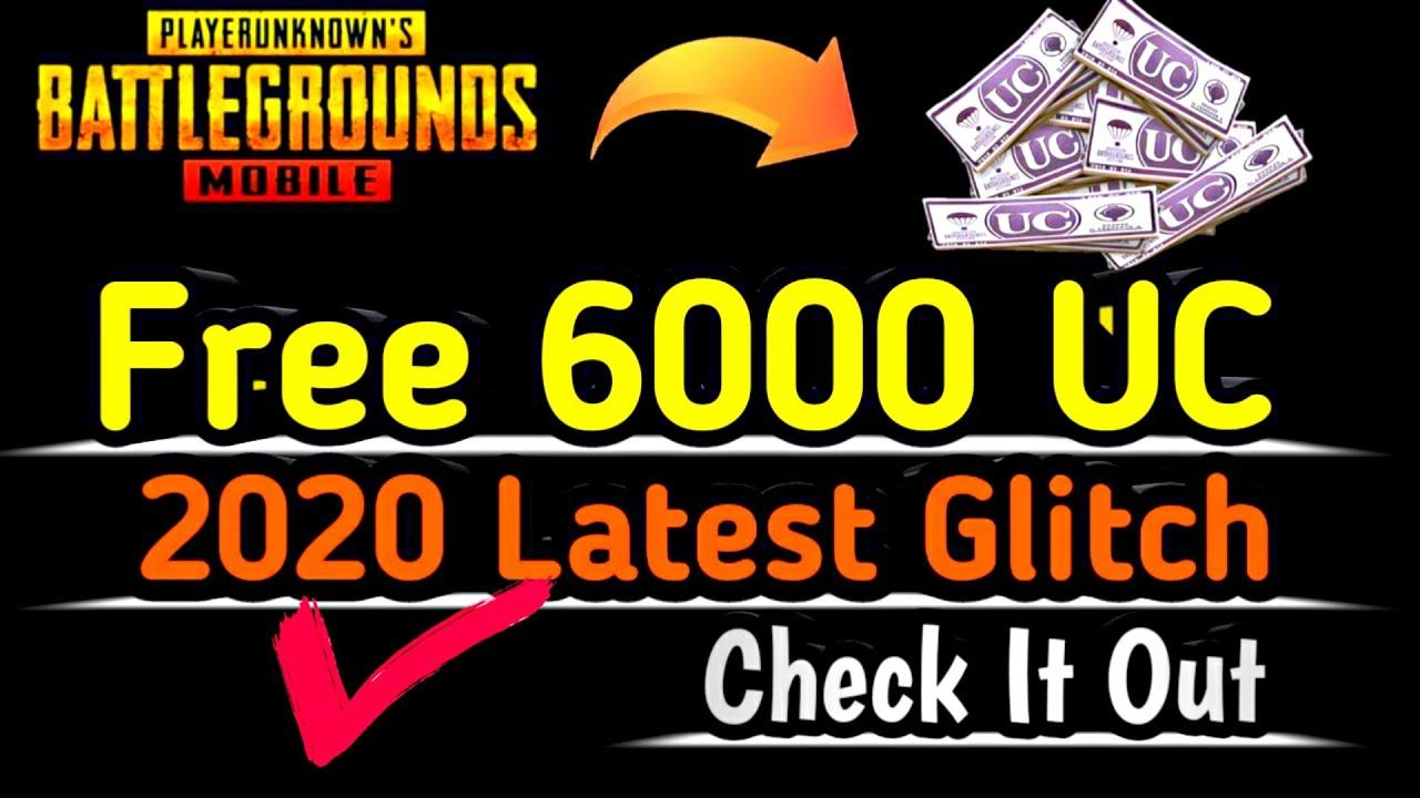 Free 6000 UC. Pubg Mobile. 2020 Latest Glitch. Get free UC in 2 Minutes.Advocate Gamer
