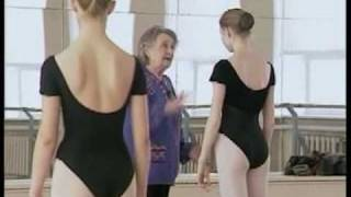 1/4 Dance lesson - Perm Ballet School documentary