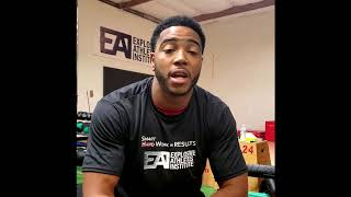 Shaquille Harrison - Explosive Athletes Institute Testimonial