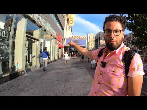 ⁴ᴷ⁶⁰ Walking NYC (Narrated) : Harlem With Urbanist: History Of Cities