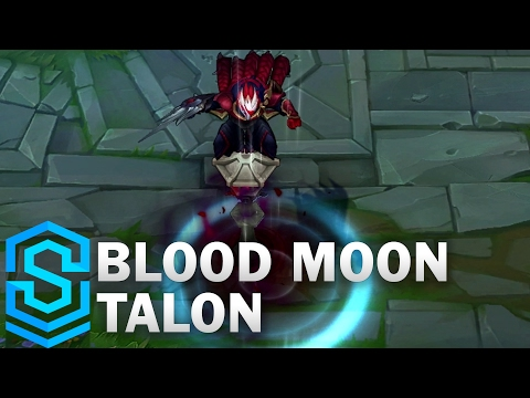 Blood Moon Talon Skin Spotlight - League of Legends