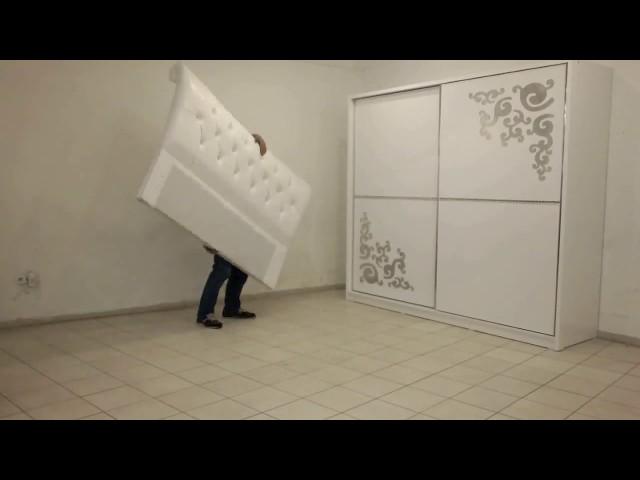 ?nci Yatak Odas? Kurulum Videosu 2 | Mobilyaminegolden.com