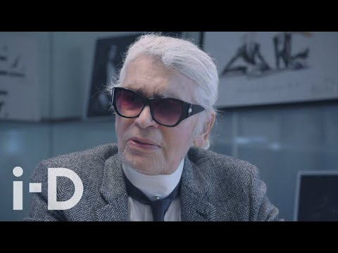 One of Karl Lagerfeld's Last Interviews Ever   i-D