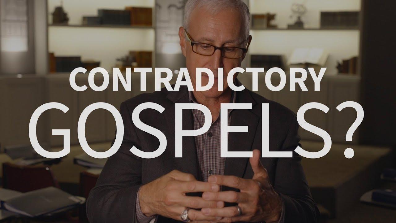 Don't the Gospels contradict?