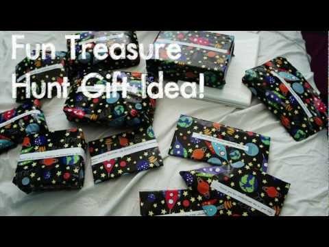 DIY Fun Treasure Hunt Gift Idea