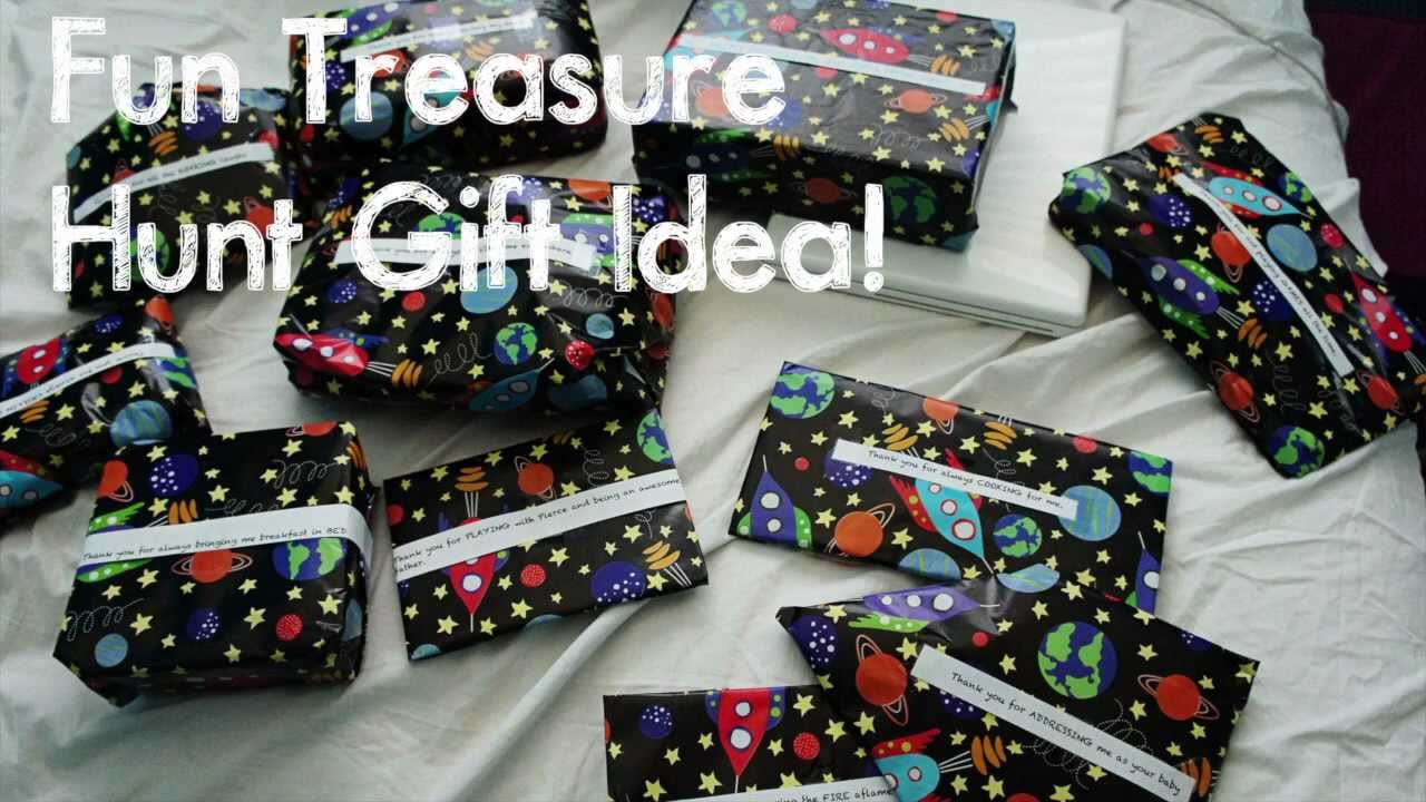 DIY Fun Treasure Hunt Gift Idea - YouTube