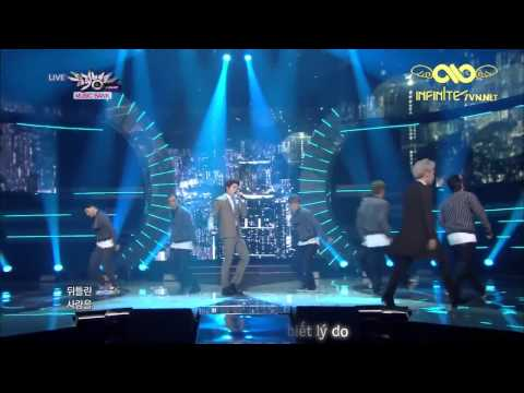 [I7VN][Vietsub][14.03.14] Toheart (WooHyun & Key) - Tell me why (Music Bank Comeback Stage)