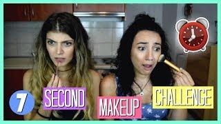 Κάνουμε το μακιγιάζ μας σε 7 δευτερόλεπτα?! ft. Dodo   katerinaop22