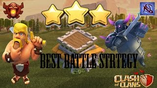 BEST TH8 Attack Strategy for 3 Stars in Clan Battle (after Dec 2016 update)
