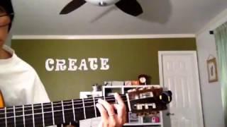Nhin Nai Kia Simple Guitar